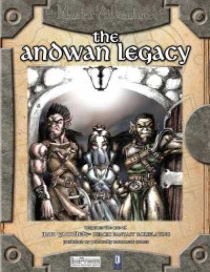 Role Playing Games - The Andwan Legacy (For Iron Gauntlets)