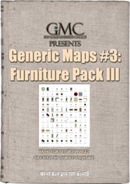 Role Playing Games - Generic Maps #3: Furniture Pack III