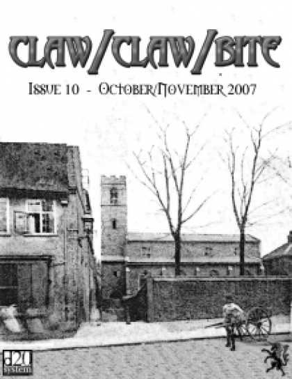 Role Playing Games - Claw / Claw / Bite ! Issue 10