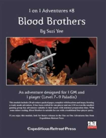 Role Playing Games - 1 on 1 Adventures #8: Blood Brothers