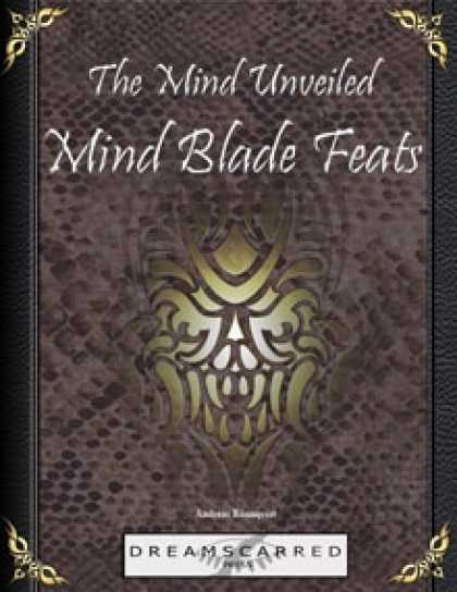 Role Playing Games - The Mind Unveiled: Mind Blade Feats
