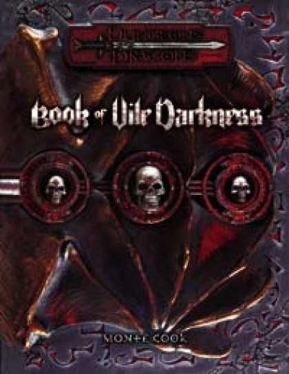 Role Playing Games - Book of Vile Darkness