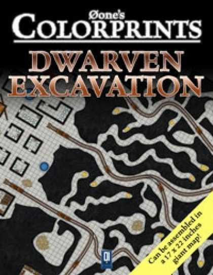 Role Playing Games - 0one's Colorprints #7: Dwarven Excavation