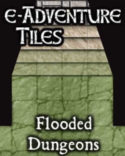 Role Playing Games - e-Adventure Tiles: Flooded Dungeons