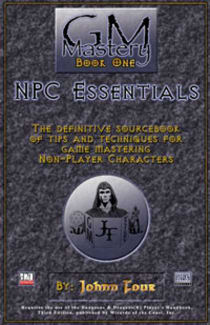 Role Playing Games - GM Mastery: NPC Essentials