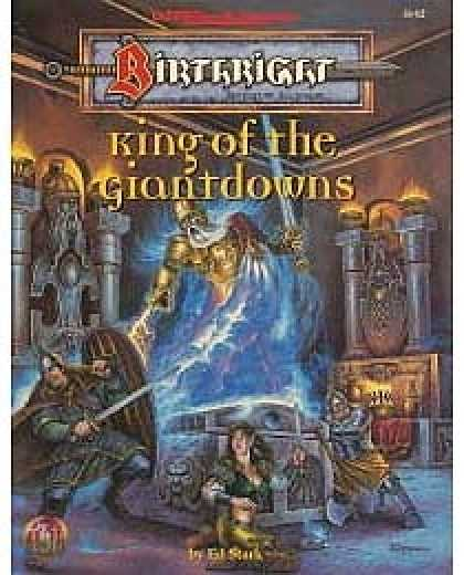 Role Playing Games - King of the Giantdowns