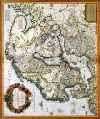 Role Playing Games - Antique Maps VII - Sweden of the 1600's