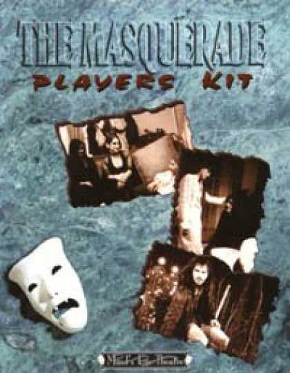 Role Playing Games - The Masquerade Players Kit