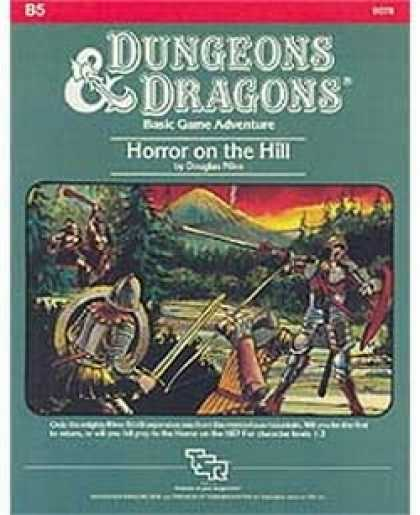 Role Playing Games - B5 - Horror on the Hill