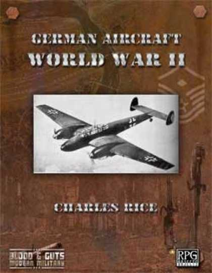 Role Playing Games - Blood and Guts 2: German Aircraft of WWII