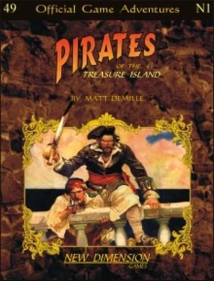 Role Playing Games - Pirates: Treasure Island--Adventure pack N1