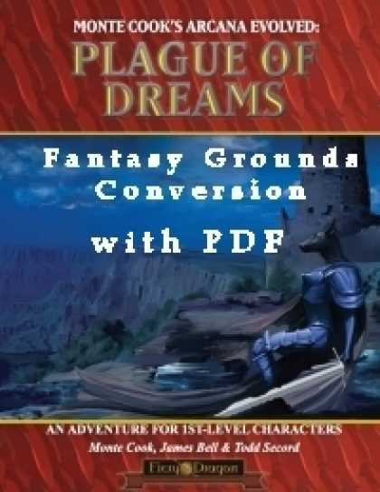 Role Playing Games - Plague of Dreams Conversion for Fantasy Grounds with PDF