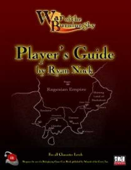 Role Playing Games - War of the Burning Sky Campaign Saga - Player's Guide