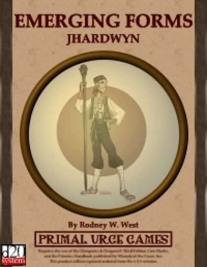 Role Playing Games - Emerging Forms - Jhardwyn
