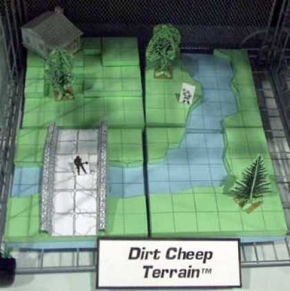 Role Playing Games - Dirt Cheep Terrain Basic Set