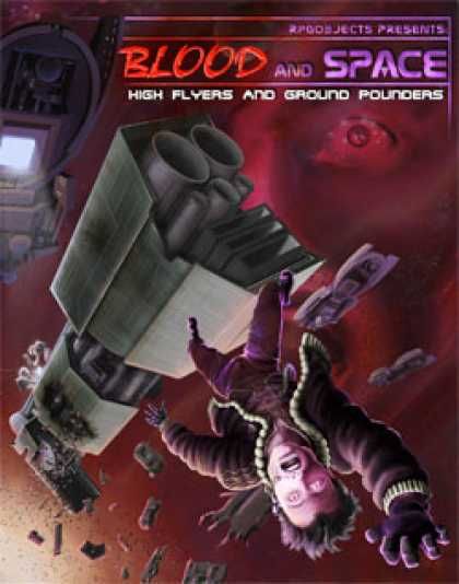 Role Playing Games - Blood and Space 2: High Flyers and Ground Pounders
