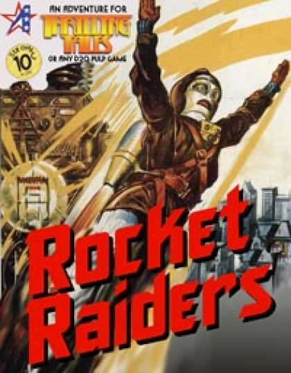 Role Playing Games - THRILLING TALES: Rocket Raiders
