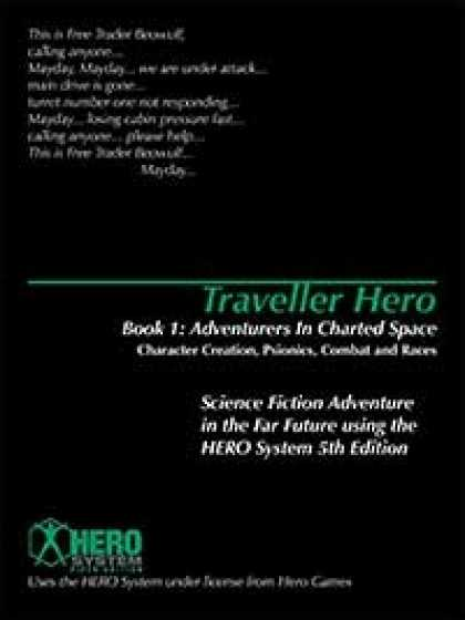 Role Playing Games - Traveller Hero Book One:Adventurers in Charted Space: Character Creation, Psioni