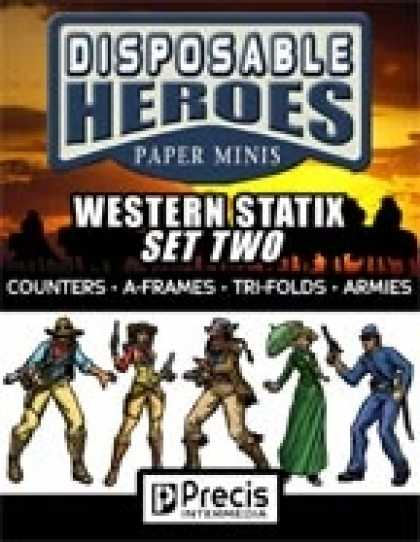 Role Playing Games - Disposable Heroes Western Statix 2