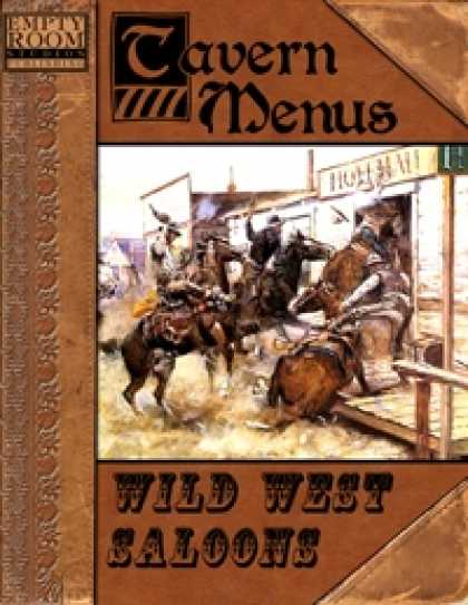Role Playing Games - Tavern Menus: Wild West Saloons