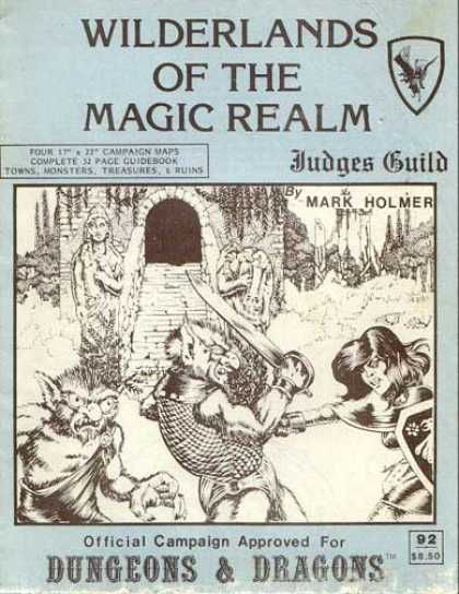Role Playing Games - Wilderlands of the Magic Realm