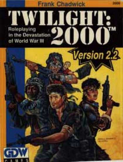 Role Playing Games - Twilight: 2000 2nd Edition Version 2.2