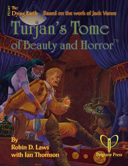 Role Playing Games - Turjan's Tome of Beauty and Horror