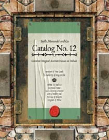 Role Playing Games - Catalog #12