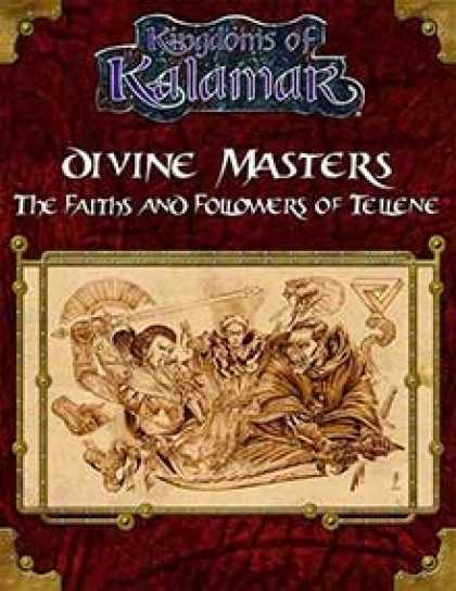 Role Playing Games - Divine Masters: The Faiths and Followers of Tellene