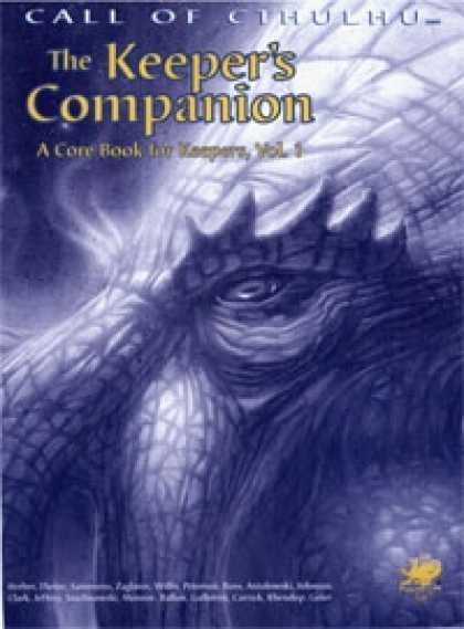 Role Playing Games - The Keeper's Companion vol. 1 - 2388