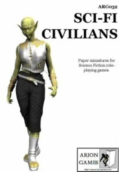 Role Playing Games - Sci-Fi Civilians Set