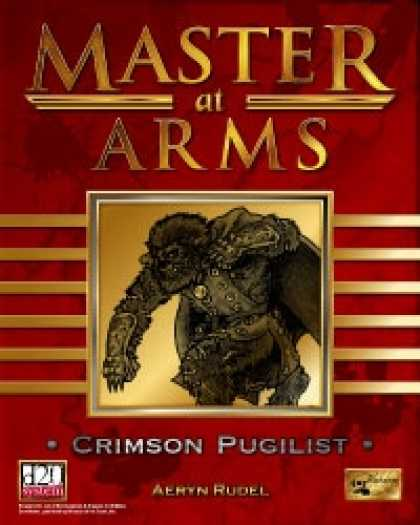 Role Playing Games - Master at Arms: Crimson Pugilist