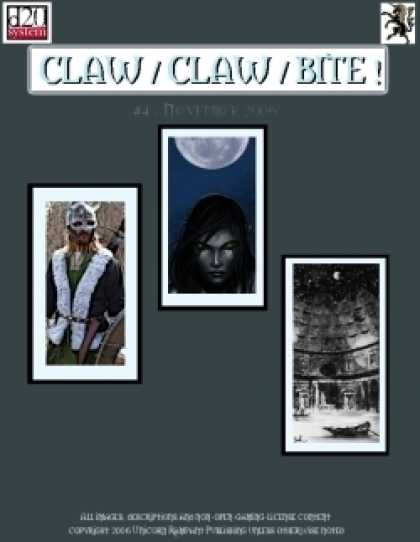 Role Playing Games - Claw / Claw / Bite ! Issue 4