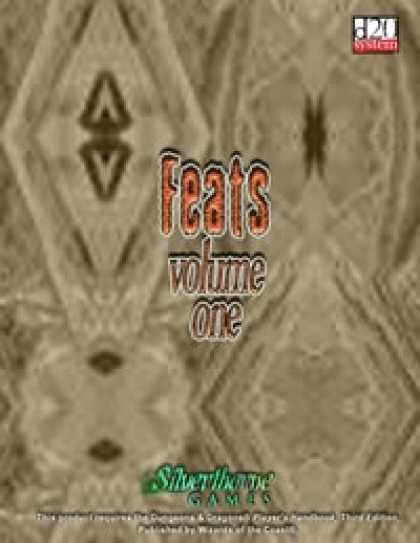 Role Playing Games - Feats Volume I