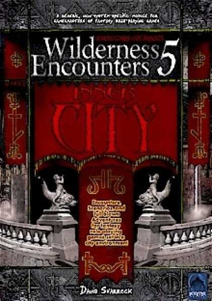 Role Playing Games - Wilderness Encounters 5 - Inner City