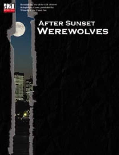 Role Playing Games - After Sunset -- Werewolves