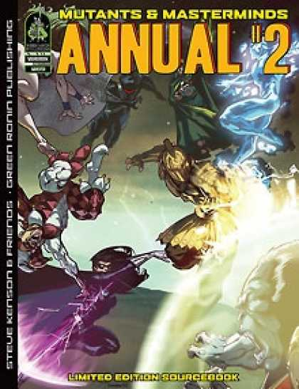 Role Playing Games - Mutants & Masterminds Annual #2