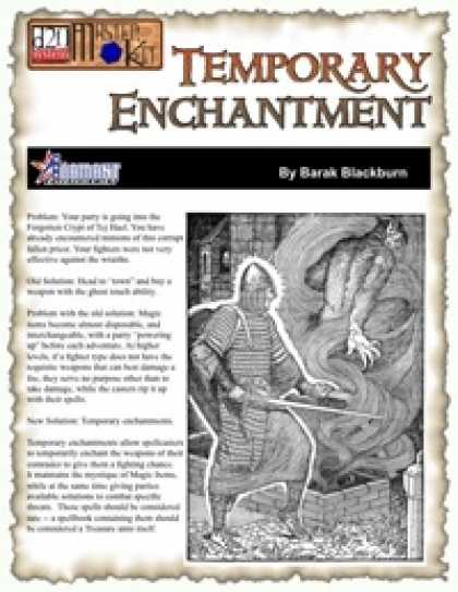 Role Playing Games - Temporary Enchantment