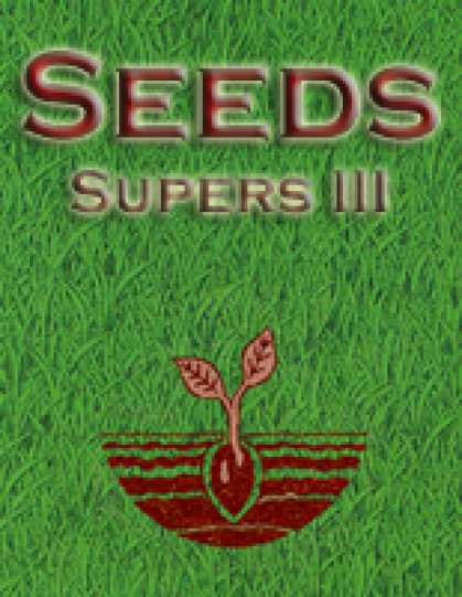 Role Playing Games - Seeds: Supers III