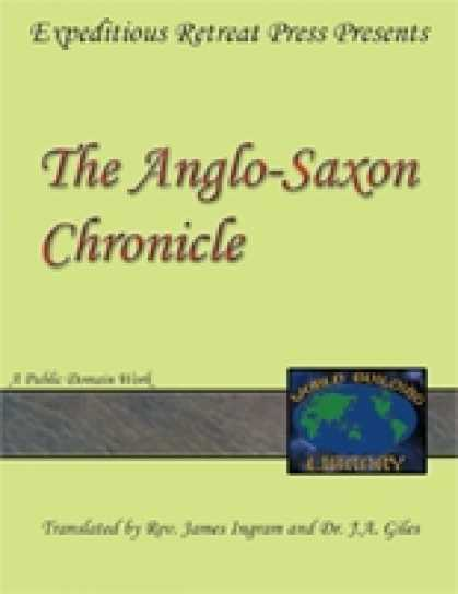Role Playing Games - World Building Library: The Anglo-Saxon Chronicle