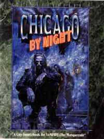 Role Playing Games - Chicago By Night - 2nd Edition