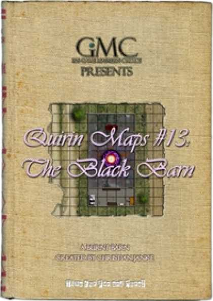 Role Playing Games - Quirin Maps #13: The Black Barn