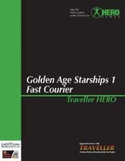 Role Playing Games - Traveller Hero - Golden Age Starships 1 Fast Courier