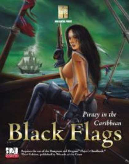 Role Playing Games - Black Flags: Piracy In The Caribbean