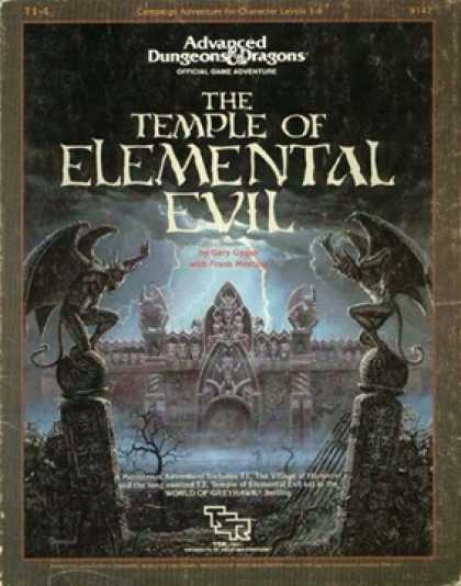 Role Playing Games - T1-4 Temple of Elemental Evil