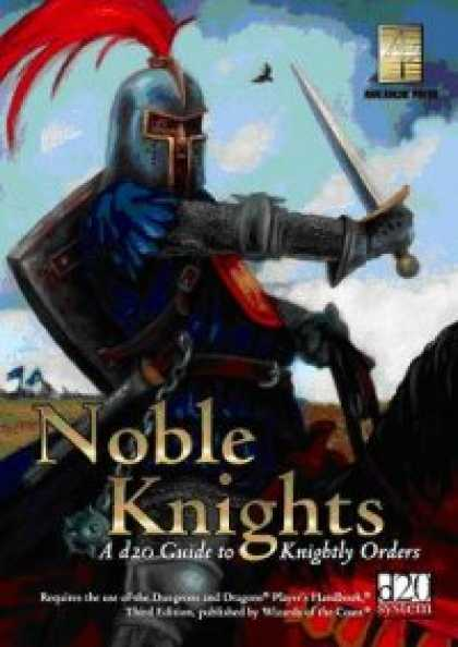 Role Playing Games - Noble Knights: A d20 Guide To Knightly Orders