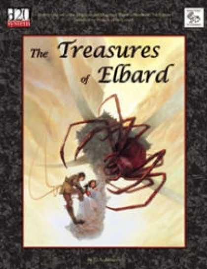 Role Playing Games - MonkeyGod Presents: The Treasures of Elbard