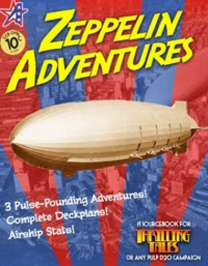 Role Playing Games - THRILLING TALES: Zeppelin Adventures
