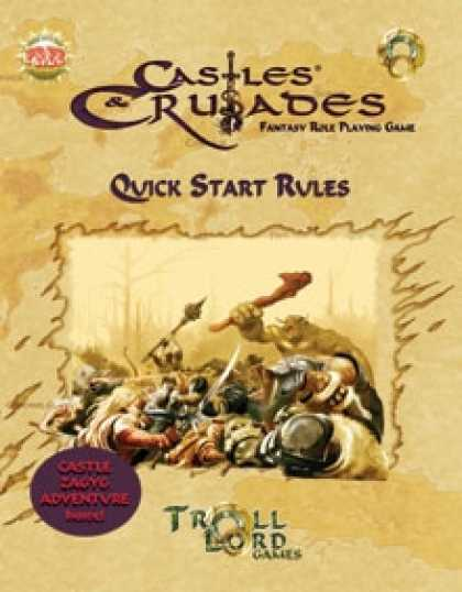 Role Playing Games - Castle &Crusades Quick Start Rules