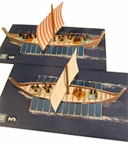 Role Playing Games - Roman Seas: Barbarians vs Rome Ship Set